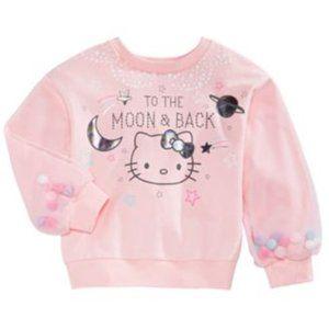 Hello Kitty To The Moon Sweatshirt